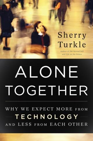 Livro Alone Together, de Sherry Turkle.