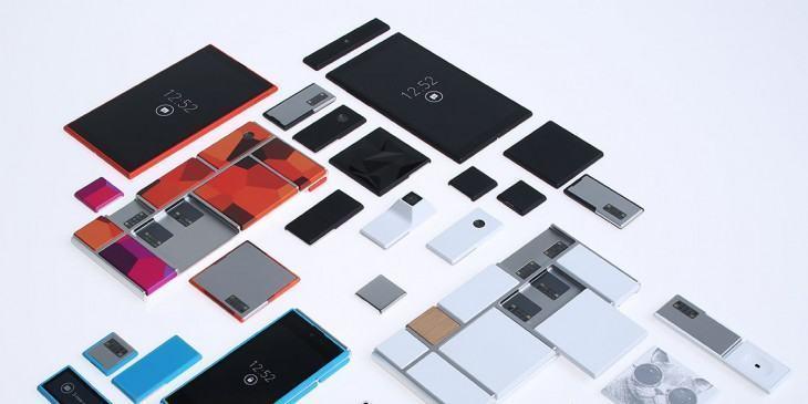 Project Ara: smartphone modular.