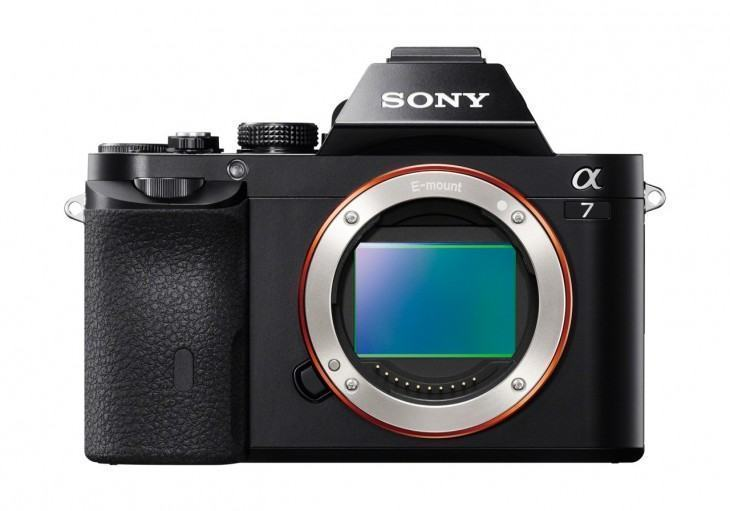 O grande sensor full frame da Sony A7.