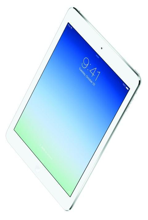 iPad Air: apenas 450 g.