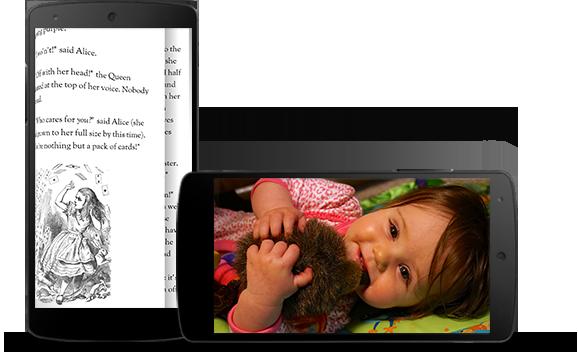 Android 4.4 lida melhor com apps em tela cheia.