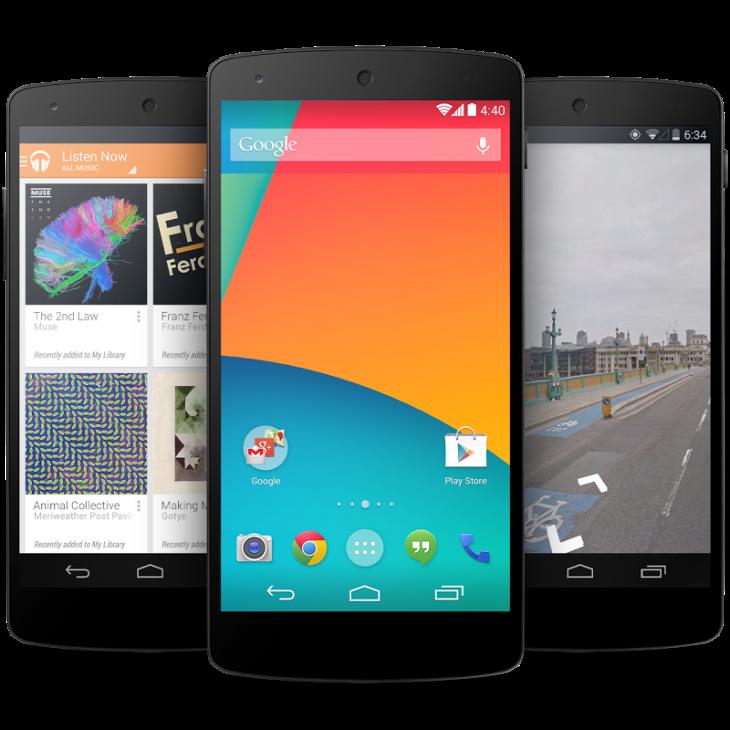 O novo Nexus 5.