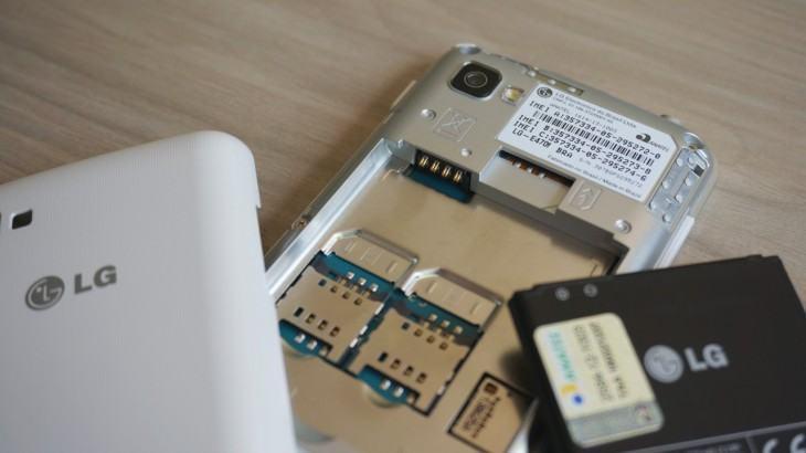 O L4 II aceita três chips de operadoras simultaneamente.