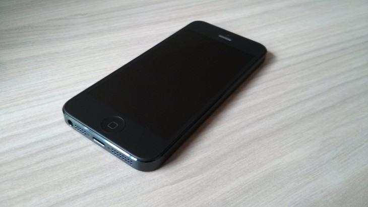 O iPhone da redação.