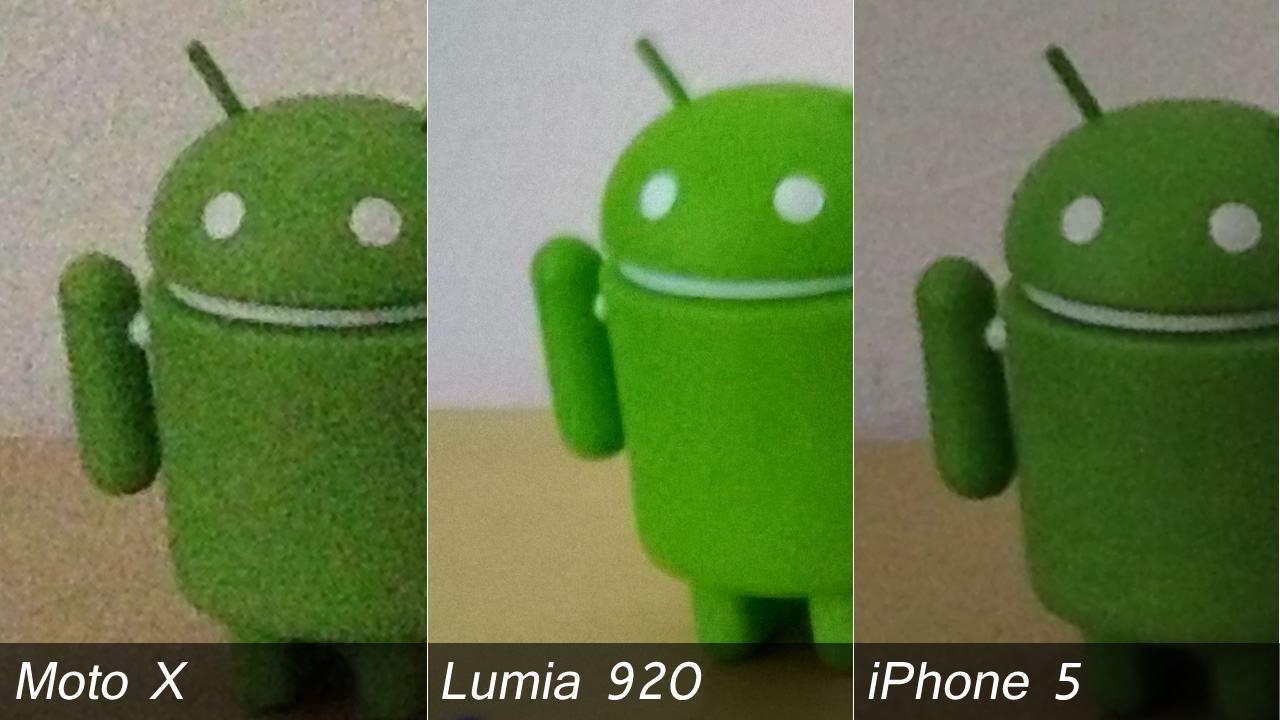 A câmera ClearPixel do Moto X deixa a desejar com pouca luz.