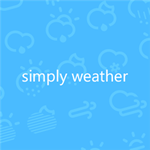 App para Windows Phone: Simply Weather.