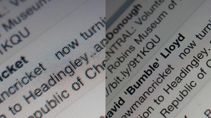 Comparativo com tela comum e tela Retina dos iPhones.