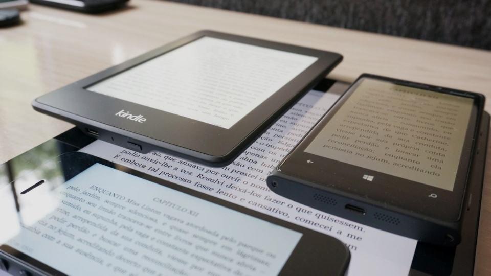 O completo ecossistema do Kindle.