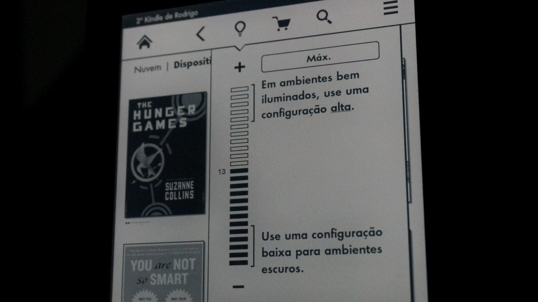 Iluminação é o diferencial do Kindle Paperwhite.