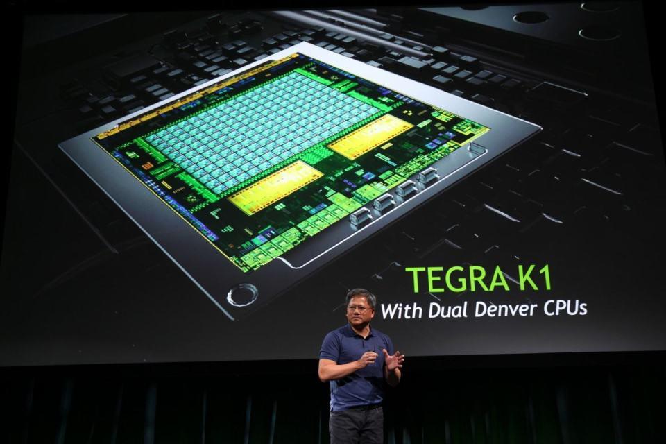 Tegra K1, mas poderia ser Tegra 5.