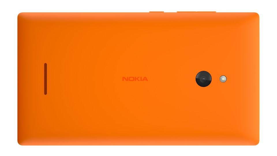 Nokia XL na nova cor laranja.