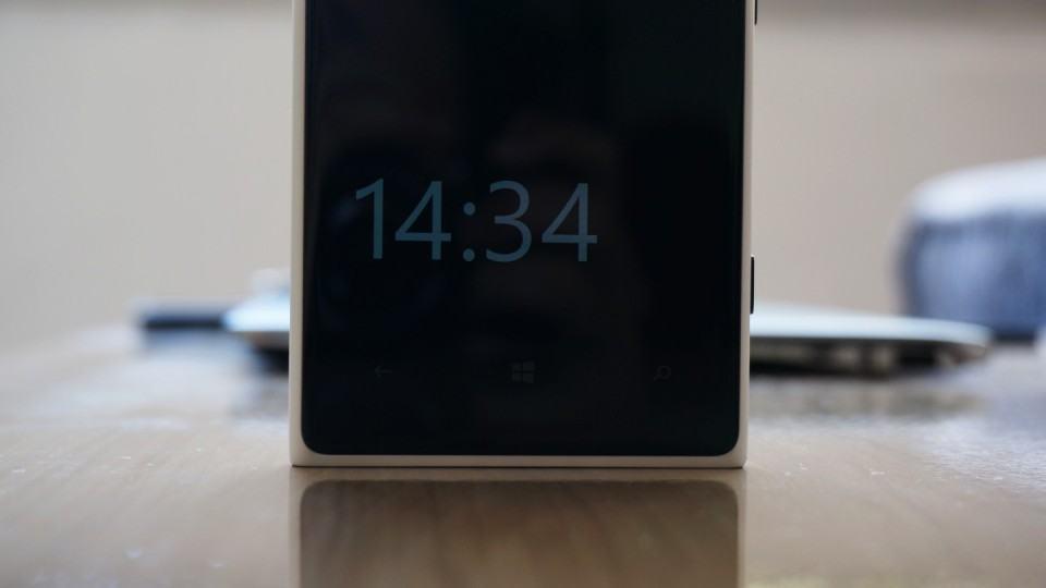 Tela AMOLED do Lumia 1020.