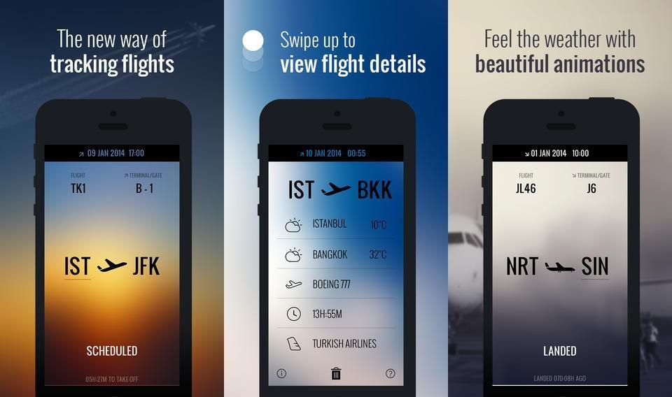 Screenshots do Flight.