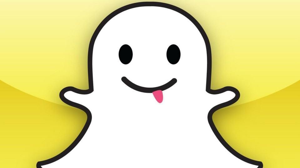 Mascote do Snapchat.