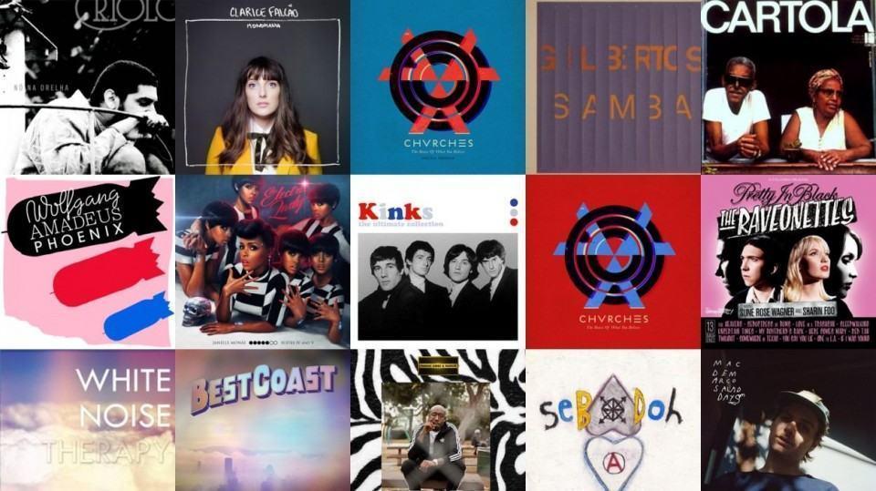 Últimos álbuns que ouvi, via Last.fm.