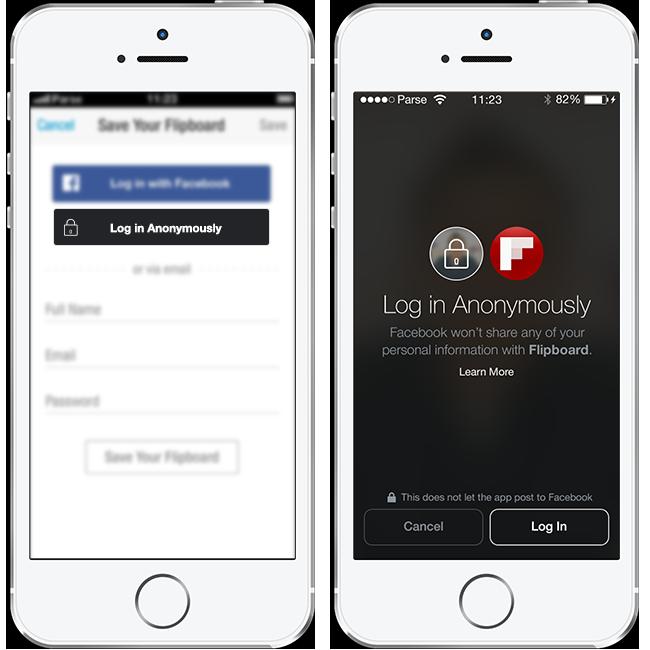 Login anônimo: teste apps sem revelar seus dados.