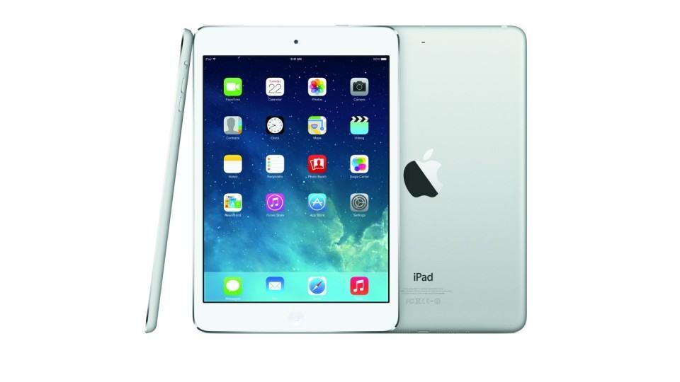 O iPad mini tem tela de 7,9 polegadas.