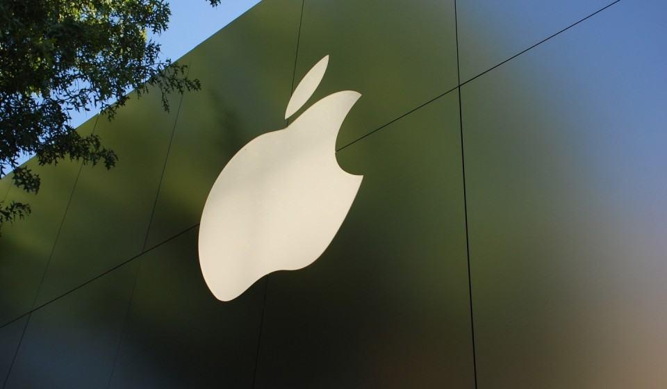 Fachada de uma Apple Store.