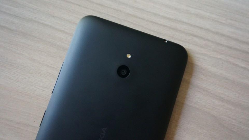 A câmera indiferente do Lumia 1320.
