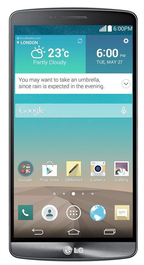 Novo G3 traz Android mais limpo.