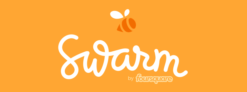 Swarm, o novo app do Foursquare.