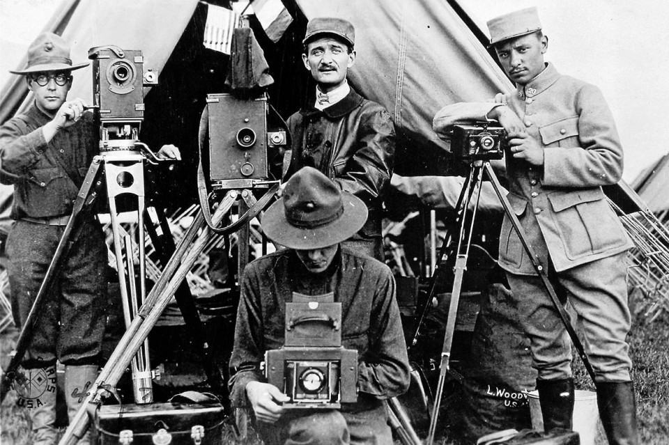 Fotógrafos da I Guerra Mundial.
