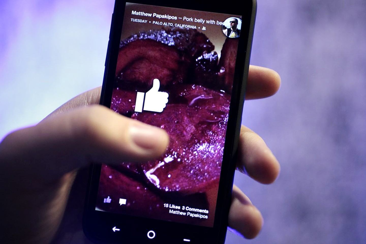 Facebook Home, launcher para Android.
