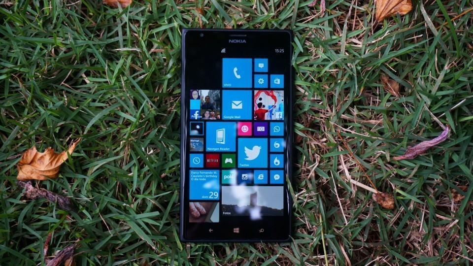 Lumia 1520 vem com Windows Phone 8.