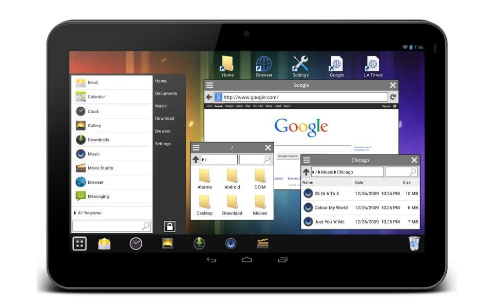 Quem nunca quis transformar o Android em Windows?