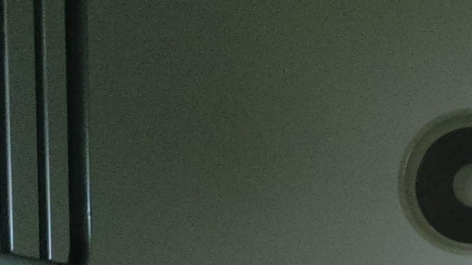 Foto de amostra: lâmpada e corrimão.