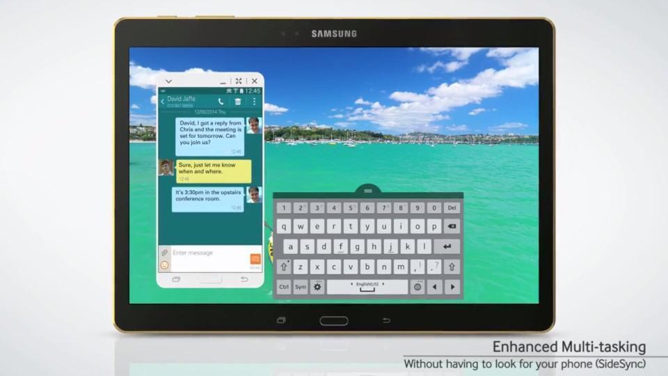 Tem um Galaxy S5 dentro do Galaxy Tab S.