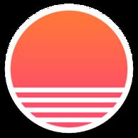 Sunrise, ícone.