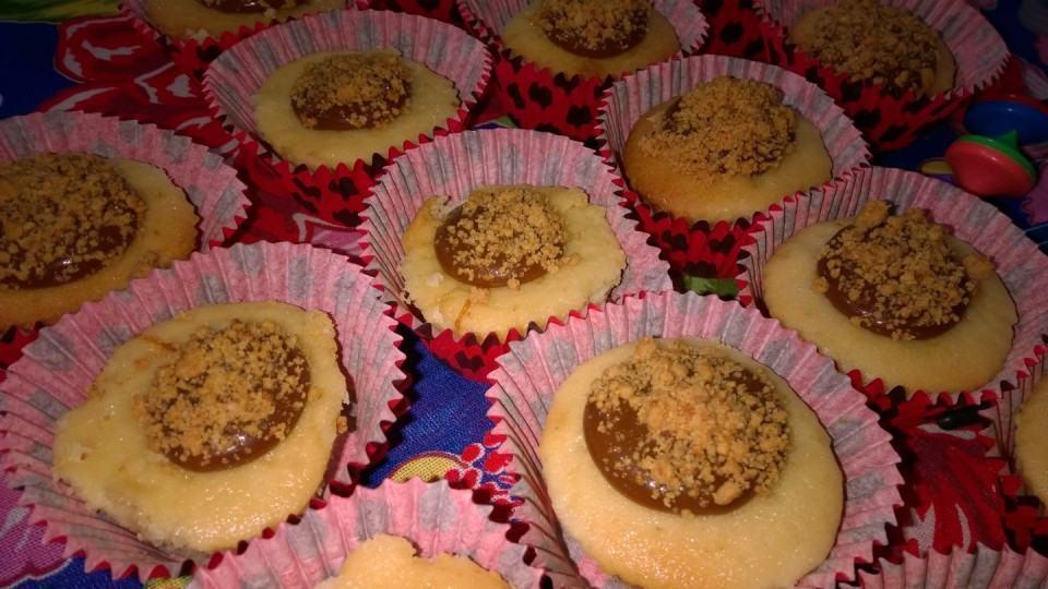Cup cakes de paçoca. Foto feita com um Lumia 1520.