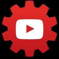 Estúdio de Criadores -- YouTube, ícone.