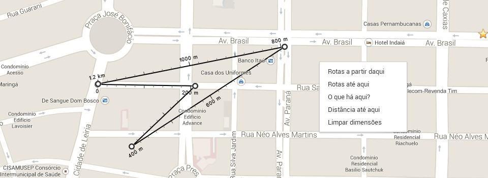 Medir distância no Google Maps agora é super simples.