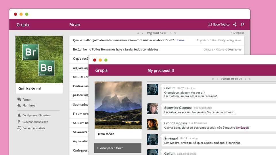 O Grupia quer ocupar o espaço que será deixado pelas comunidades do Orkut