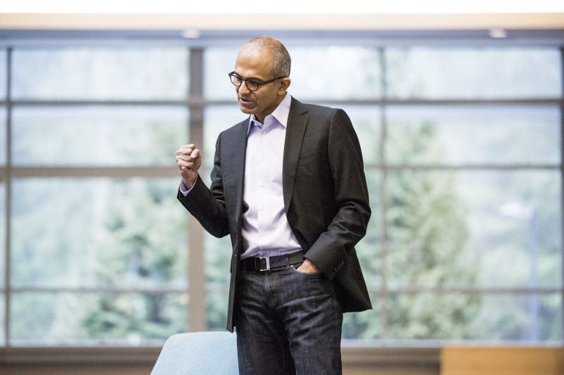 Satya Nadella, CEO da Microsoft.