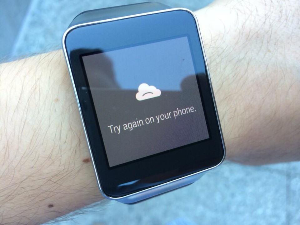 Quando o Android Wear não dá conta, ele pede ajuda ao smartphone.