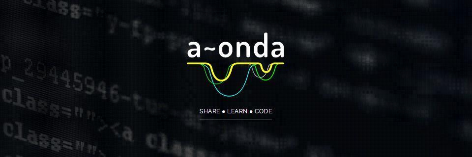 Logo d'A Onda, de Maringá-PR.