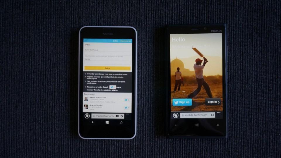 Internet Explorer se disfarça de Safari para renderizar melhor as páginas web.