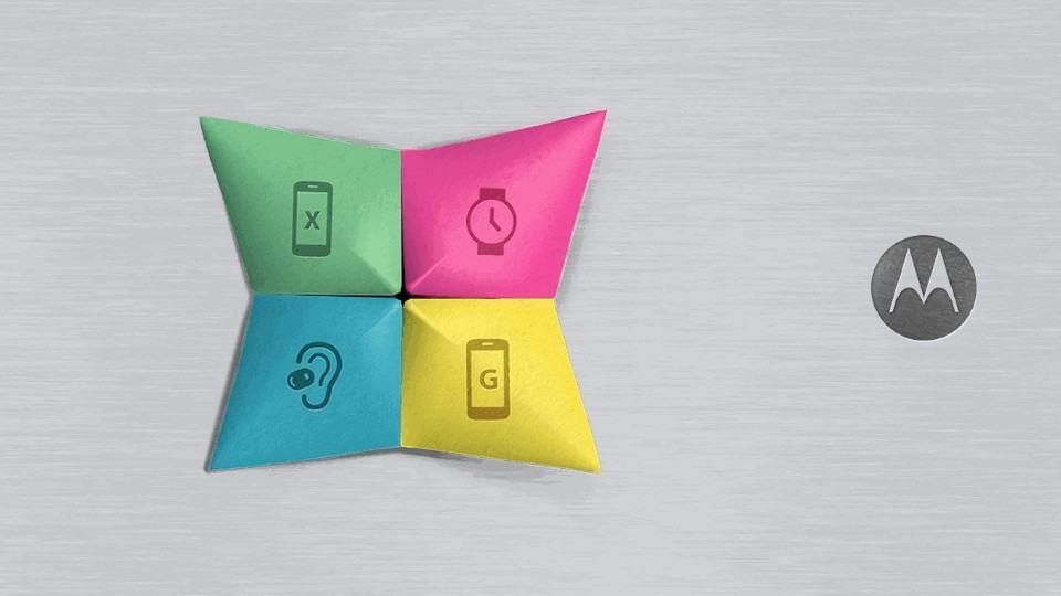 Convite para evento da Motorola.