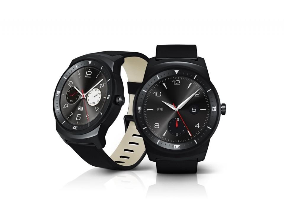 G Watch R, primeiro relógio inteligente redondo.