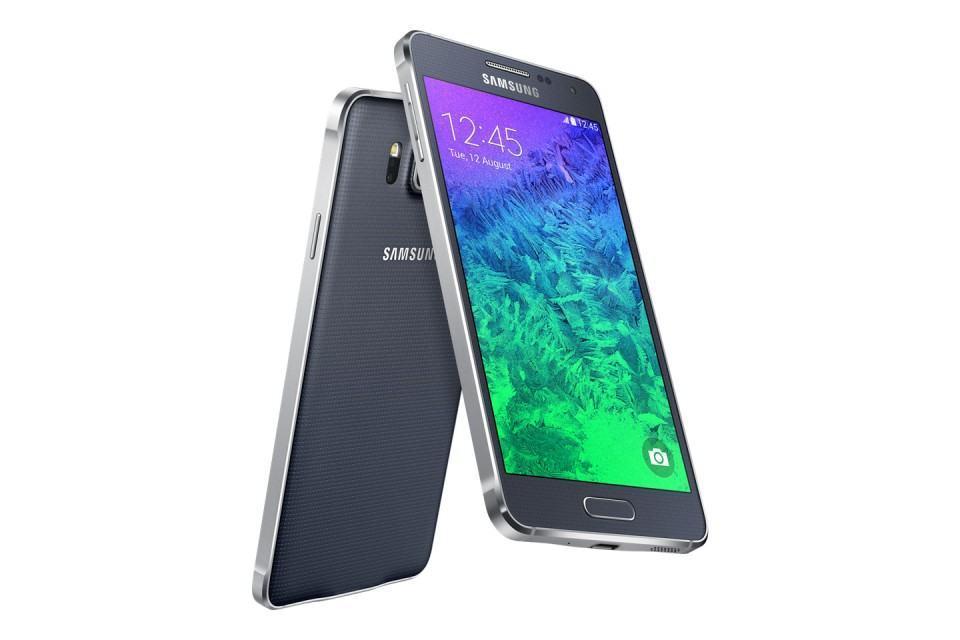 Galaxy Alpha, novo da Samsung.