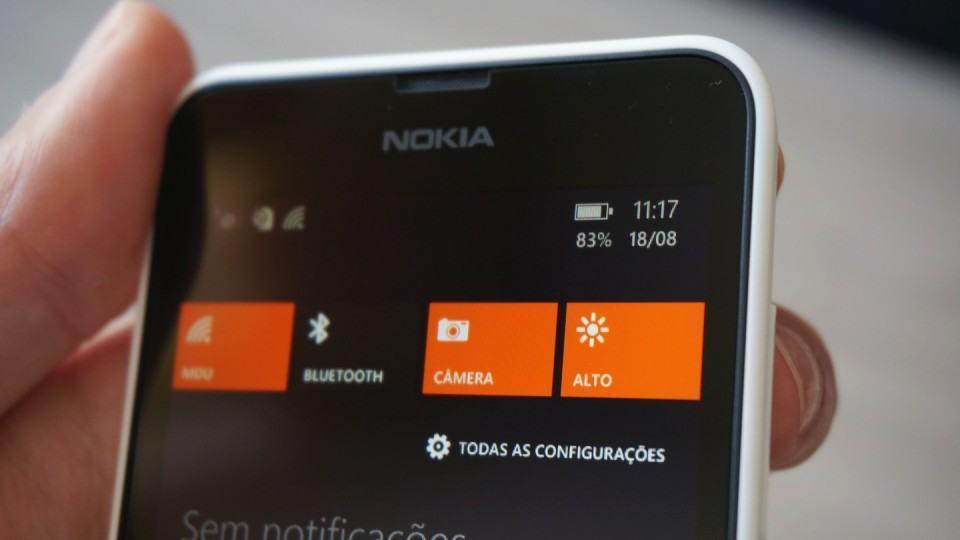 Windows Phone 8.1 fez sua estreia no Lumia 630.