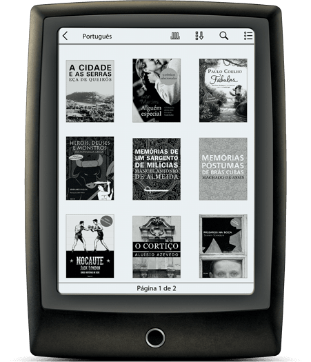 Lev, o e-reader da Saraiva.