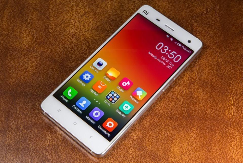 Mi4, último smartphone da Xiaomi.