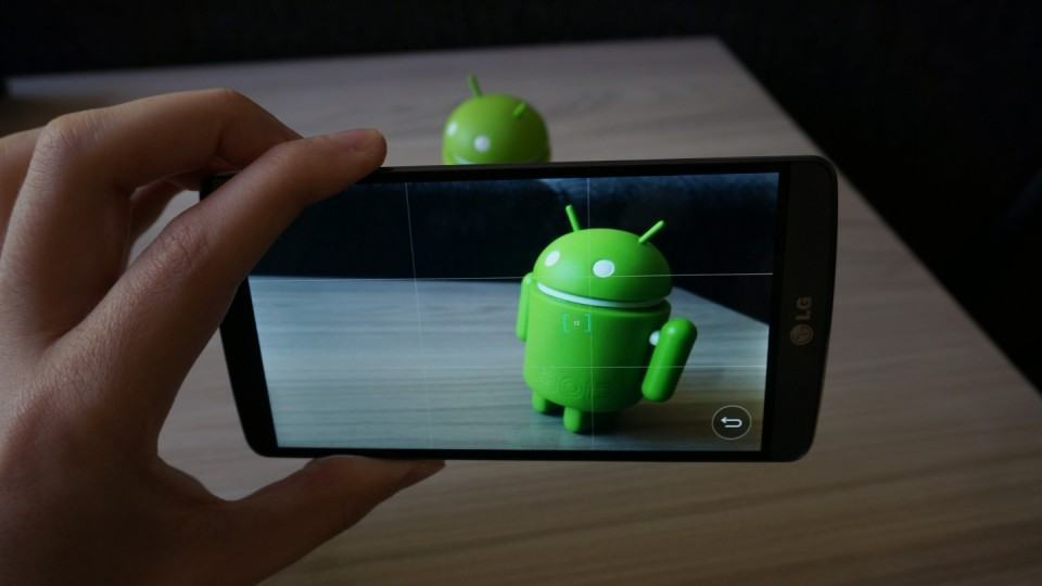 App de câmera do G3.