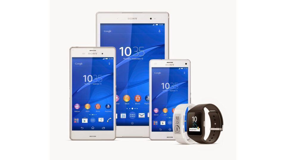 Novos produtos da Sony anunciados na IFA.