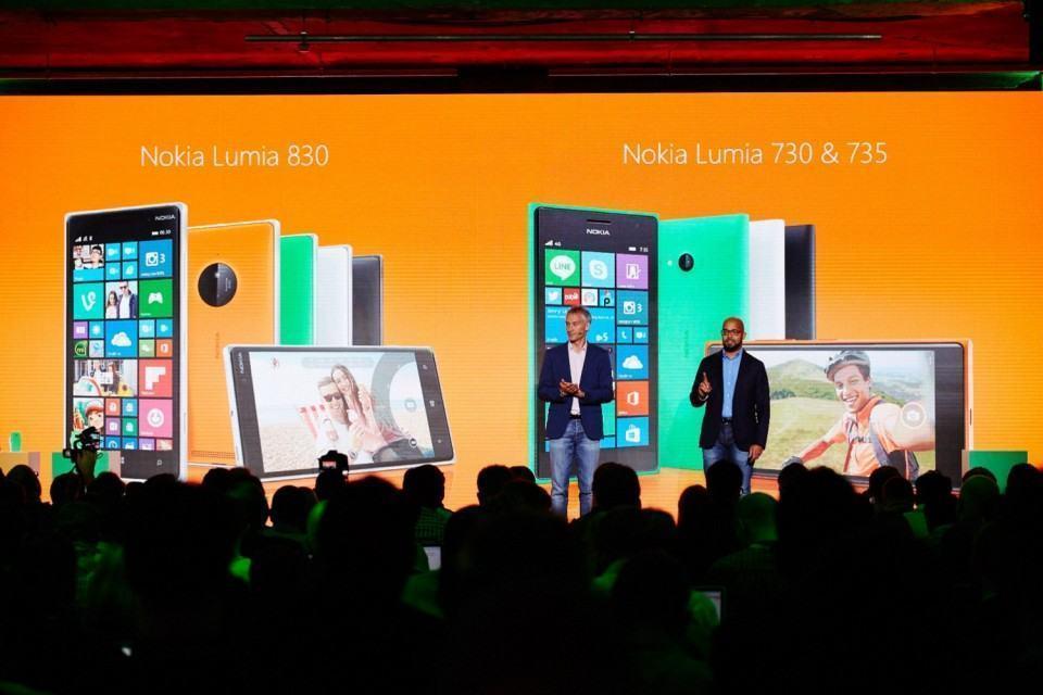 Novos Lumias anunciados em Berlim.