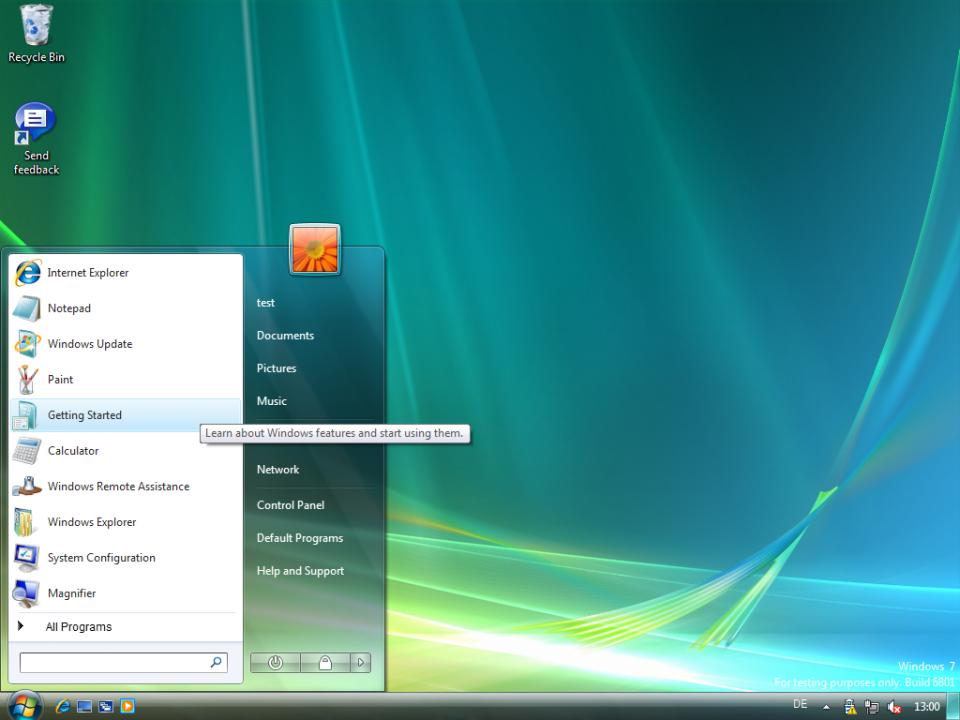 Não se engane: este é o Windows 7.